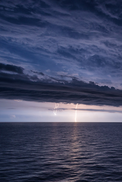 Lightning in Key West, Florida