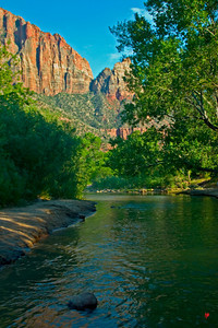 """Virgin River,"" Springdale, Ut., Jul.'07"