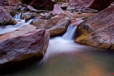 """Water Runs Through It"", Zion National Park, Ut., 07/08/07"