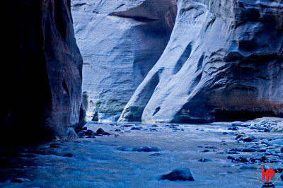 """Cold Morning"", Zion National Park, Ut., 01/13/08"