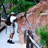 The Rock Might Break Off at Zion National Park in Utah