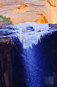 """Frozen Assets"", The Narrows, Zion National Park, Ut., Jan.'08"