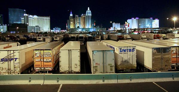 Vegas as seen through the back door...