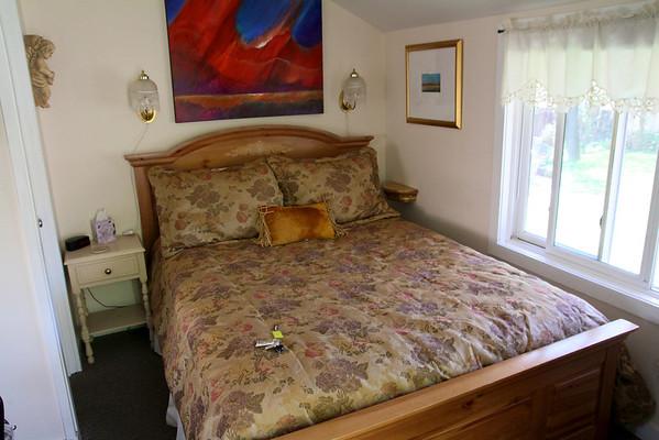 Under the Eaves Bed & Breakfast- Springdale, Utah. Our room (Room 6).
