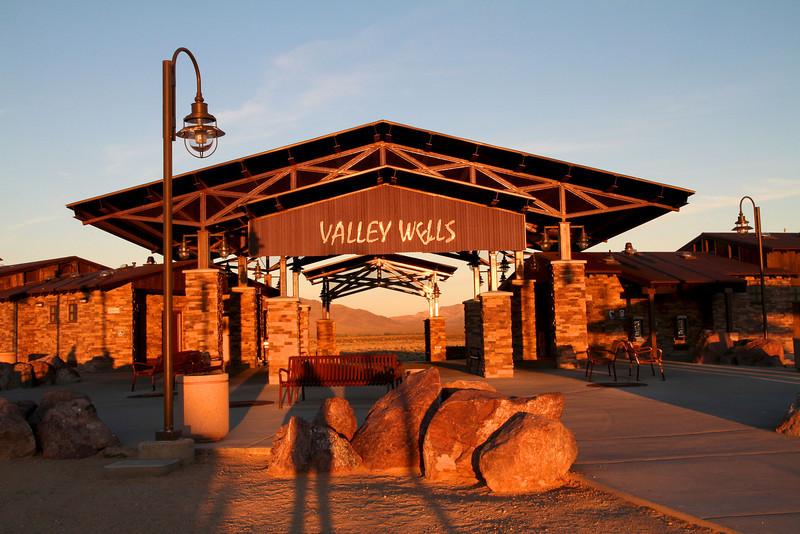 Valley Wells Rest Area- Nipton, California. The world's nicest rest area!