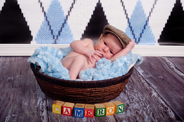 Cameron one month