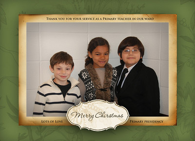 Primary Christmas cards