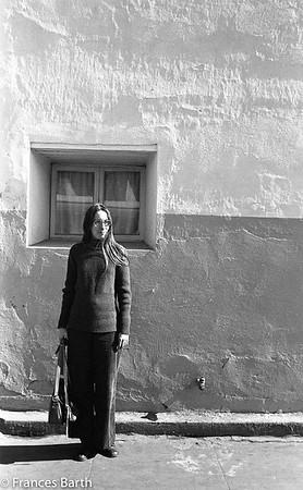 Frances Barth 1974 in Mexico