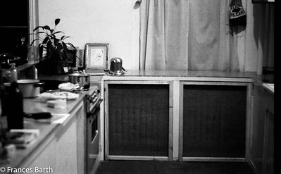 our kitchen on the Bowery 1972