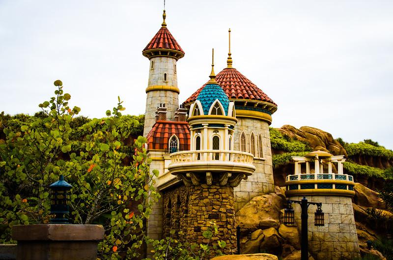 Ariel's Grotto at the new Fantasyland