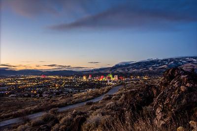 Dawn in Reno
