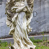 Praying Marble Angel In Conway