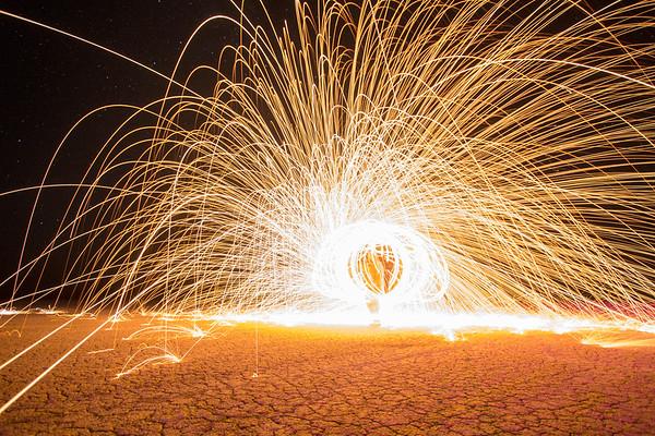 Steel Wool Spinning (pt. 4)