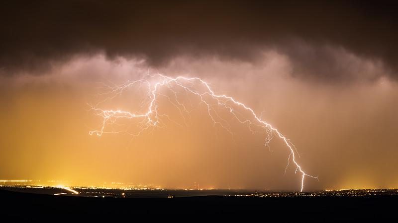 Storm over Albuquerque