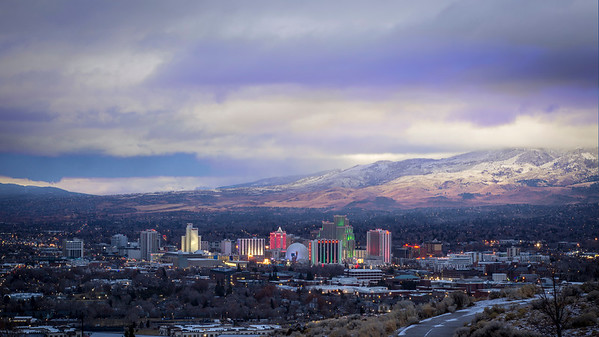 Christmas Morning in Reno, 2018