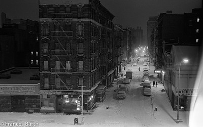 View from my studio window_Prince St. and Bowery 1974