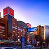 名古屋駅 新幹線口 駅前ビル群 2015 Buildings in front of NAGOYA Station  Aichi,Japan
