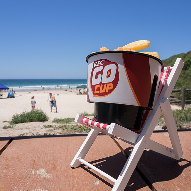 GoCup on the Beach