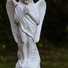 Angel Statuette Outside Conway