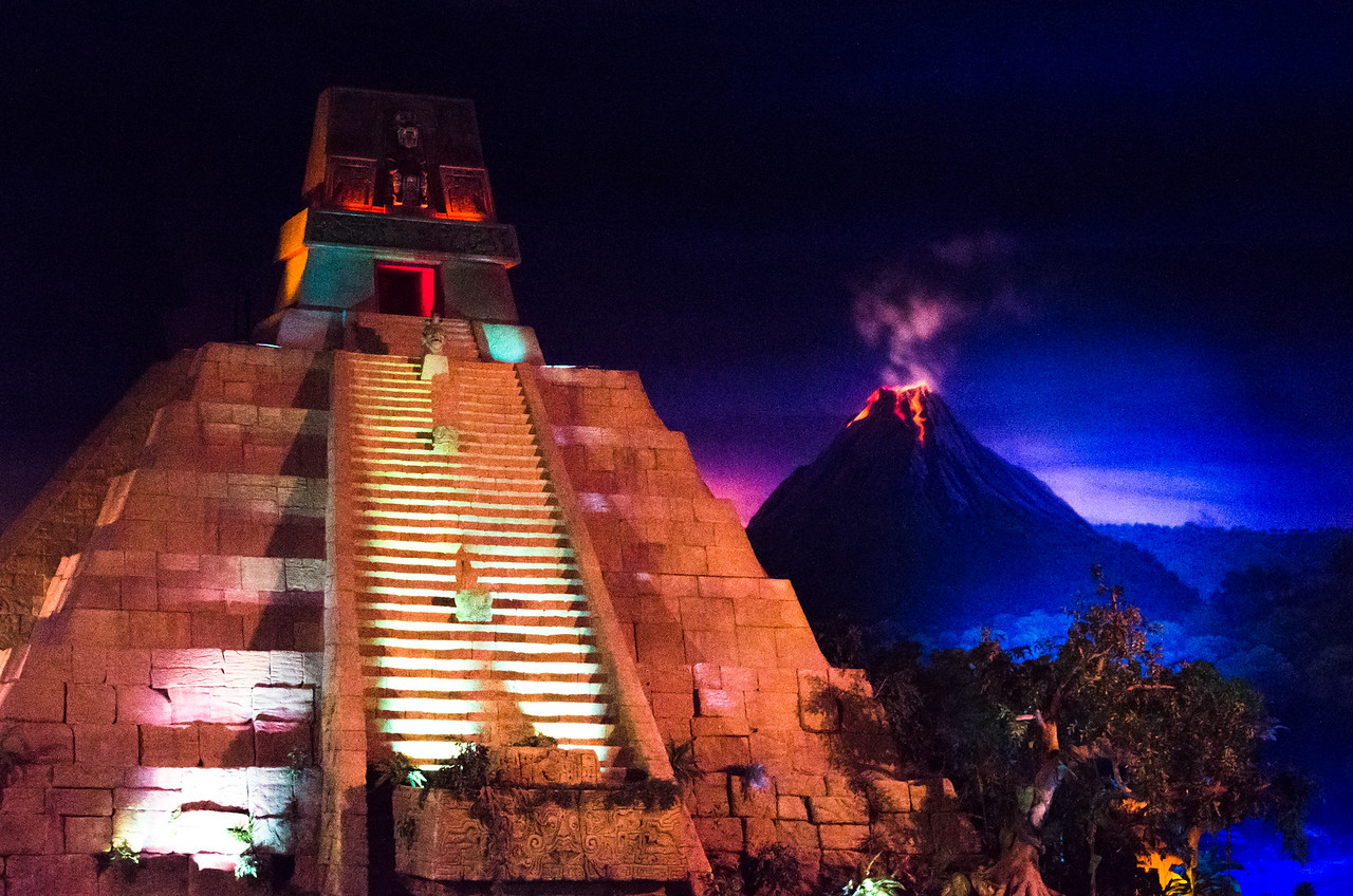 "Inside ""Mexico"" at Epcot"