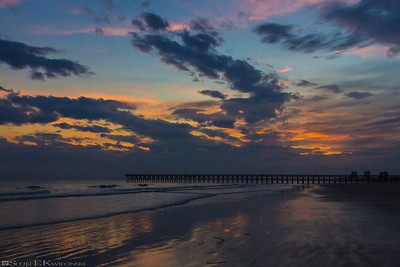 Northern Cherry Grove Pier Sunset