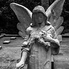 Angel Statue At Vereen Memorial Gardens