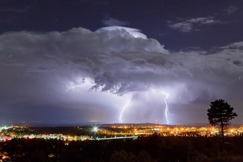 Light Show    Los Alamos, New Mexico