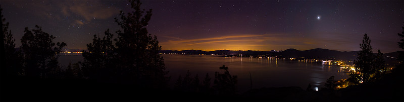 Venus over North Lake Tahoe