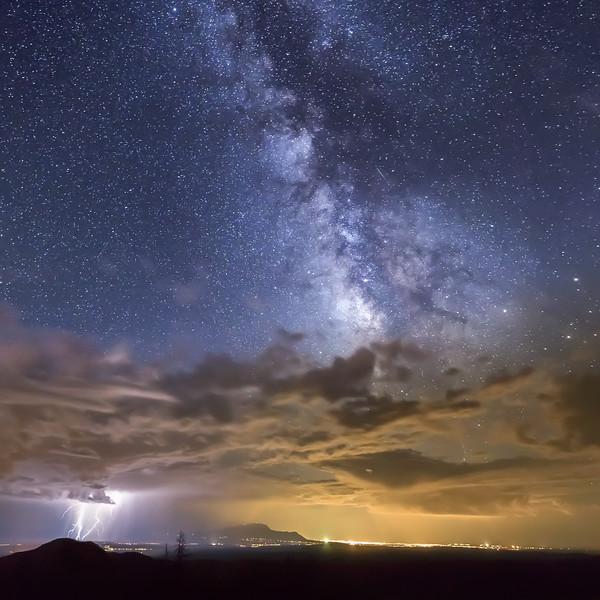 Lights || Cochiti Canyon, New Mexico