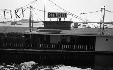 Tiki restaurant, Mexico, 1974