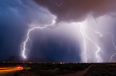 Monsoon over the Superstitions 2
