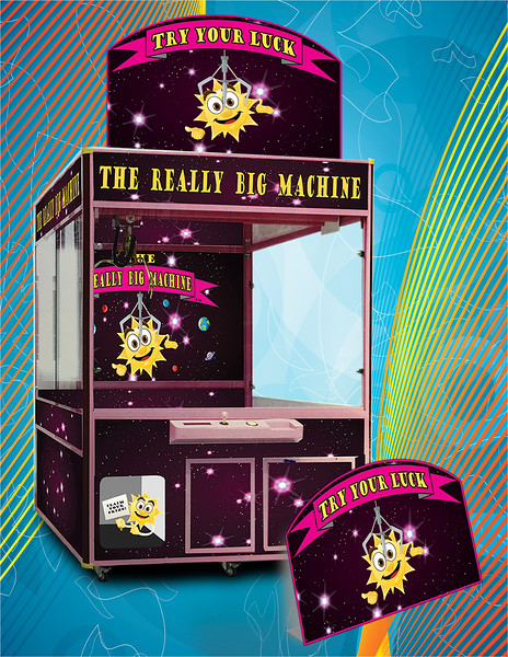 The Really Big Machine Crane Game