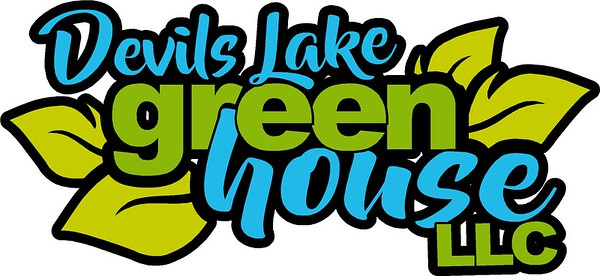Devils Lake Green House Logo Design