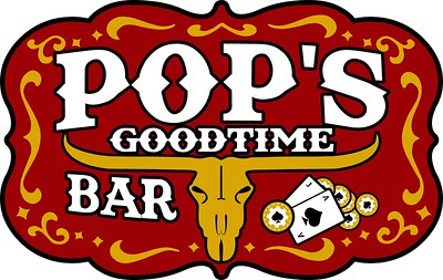 Pops Bar Logo Design