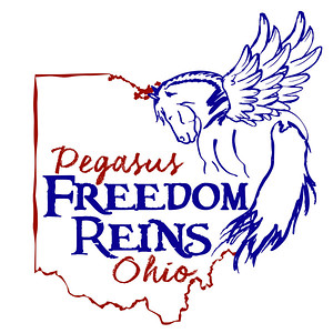 Pegasus Freedom Reins Ohio Logo Design