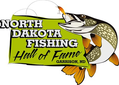 North Dakota Fishing Hall of Fame Logo Design
