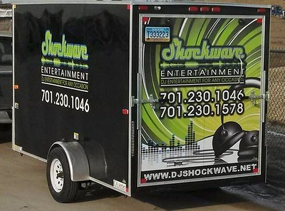 Logo and Trailer Graphics Design and Application