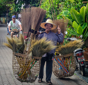 Broom Seller - Chiang Mai
