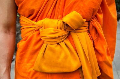Knot Of The Buddhist Monk