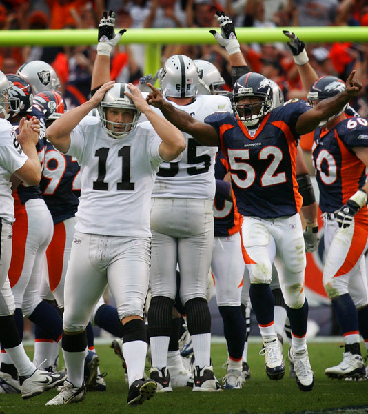RAIDERS BRONCOS