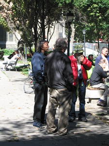 People at Street Chess Games