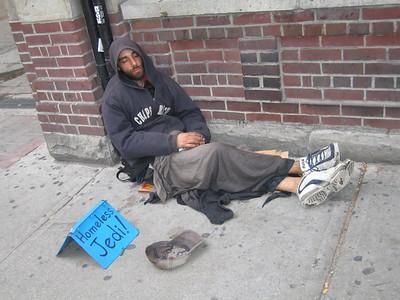 Homeless Jedi, Queen Street
