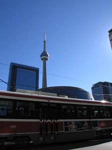 CN Tower and Roy Thompson Hall
