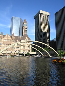 Old City Hall and Nathan Philips Square