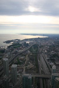 Toronto view from the CN Tower