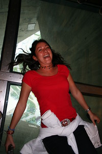 Liliana, Glass Floor, CN Tower
