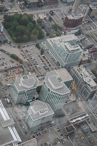 Downtown Toronto, SoHo Met, from CN Tower