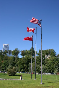 Flags, Niagara Falls