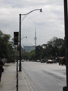 CN Tower from Bloor St.