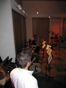 Live recording for the music of Cinemex Trailers